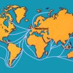 Nederland op de wereldkaart